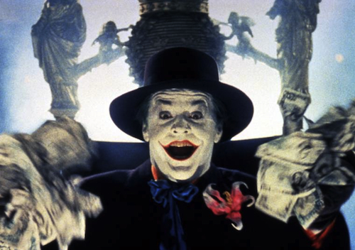 Jack Nicholson, The Joker, Money