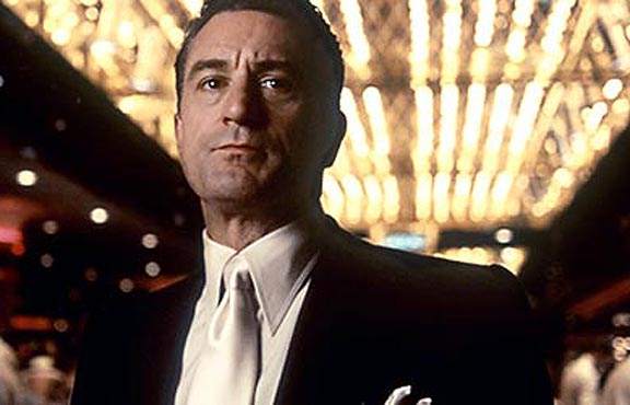 Casino, Robert DeNiro In contrast to the guesswork of roulette, ...