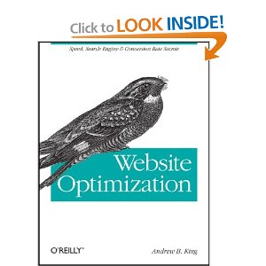 Website Optimization: Speed, Search Engine & Conversion Rate Secrets, Book Cover