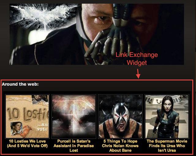 Link Exchange Widget