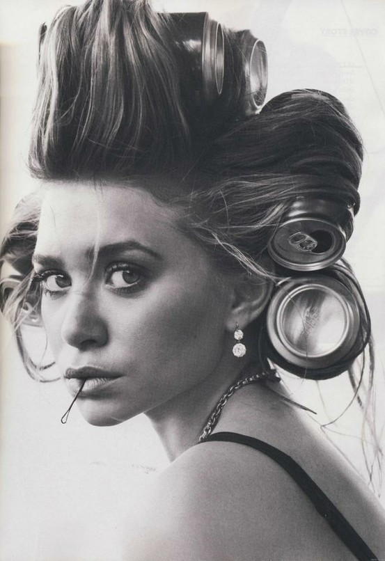 Ashley Olsen Beer Can Hair Pin