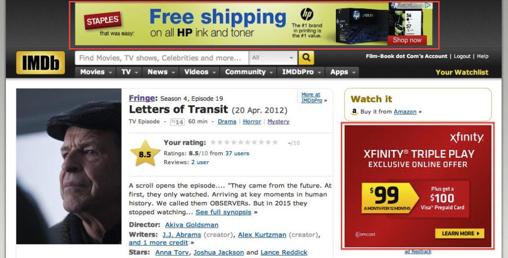 IMDb F Pattern