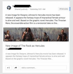 FIlms Hercules Meta Data