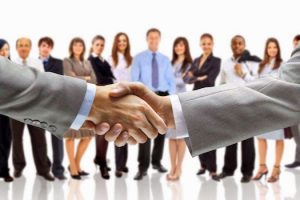 Networking Partner Hand Shake
