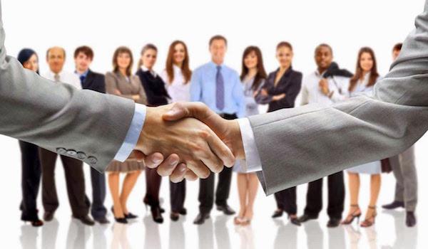 Networking Partner Hand Shake